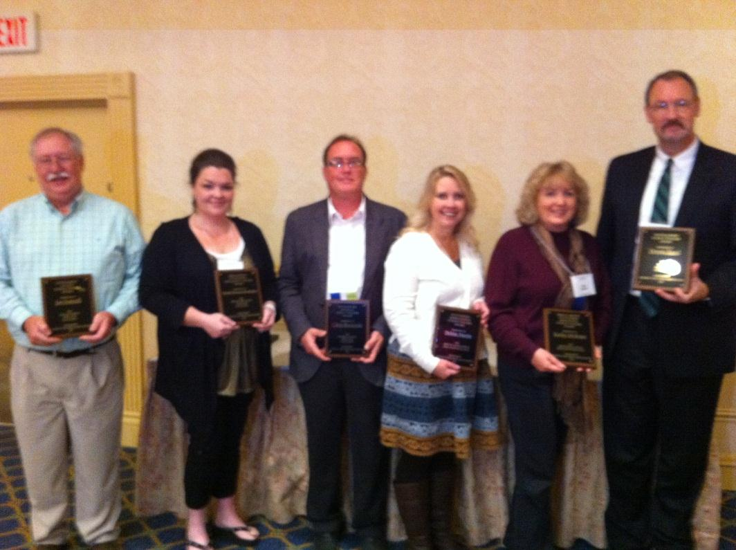 2012 Outstanding Teacher Award recipiants
